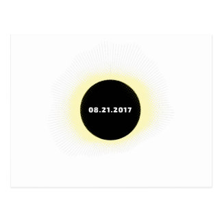 Total Solar Eclipse Postcard