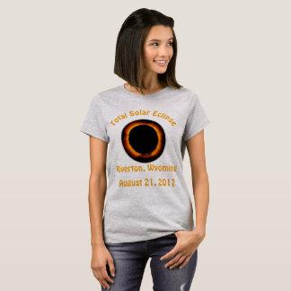 Total Solar Eclipse (  Riverton, Wyoming ) T-Shirt
