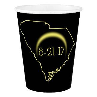 Total Solar Eclipse South Carolina 2017 Paper Cup