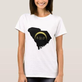 Total Solar Eclipse South Carolina Silhouette 2017 T-Shirt