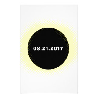 Total Solar Eclipse Stationery