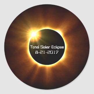 Total Solar Eclipse - Stickers