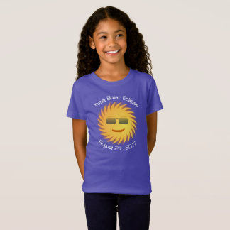 Total Solar Eclipse T-Shirt - Purple