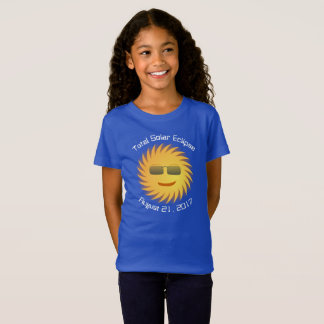 Total Solar Eclipse T-Shirt - Royal Blue