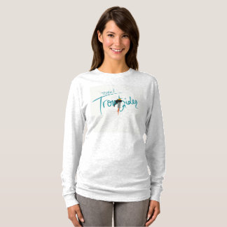 Total Troutsider Sketch Logo Long Sleeve Shirt