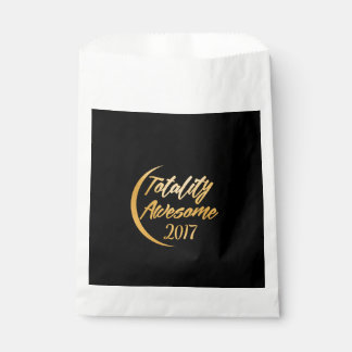 Totality Awesome 2017 Solar Eclipse Favor Bag