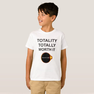 Totality Totally Worth It, Solar Eclipse T-Shirt