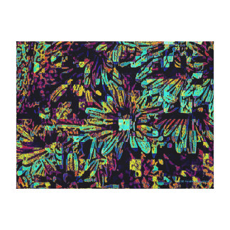TOTALLY ABSTRACT FLORAL CANVAS PRINT