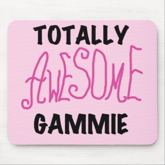 Totally Awesome Gammie Pink T-shirts and Gifts Mouse Pad
