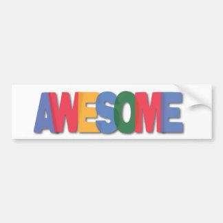 Totally Awesome Gifts Bumper Sticker