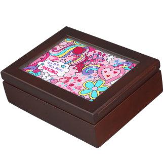 Totally awesome keepsake box
