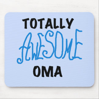 Totally Awesome Oma Blue T-shirts and Gifts Mouse Pad