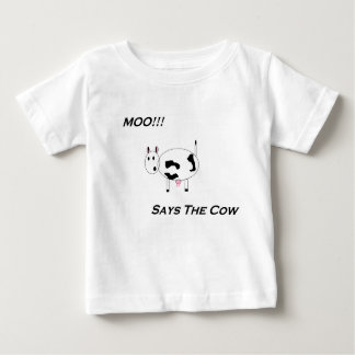 Totally Cute! Babies' Moo Shirt