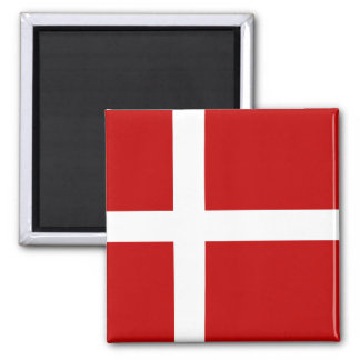 Totally Denmark Flag Magnet
