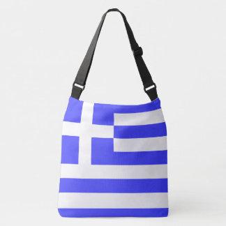 Totally Flag of Greece Crossbody Bag