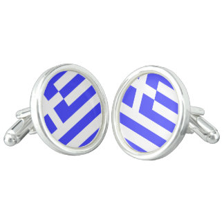 Totally Flag of Greece Cuff Links