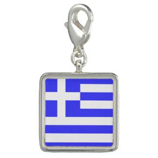 Totally Flag of Greece Photo Charm