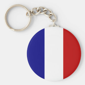 Totally French Flag! Keychain