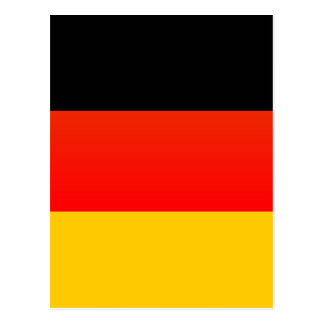 Totally German Flag Postcard