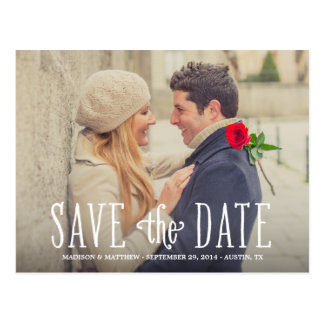 Totally in Love | Save the Date Postcard