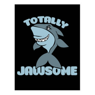 Totally Jawsome Postcard