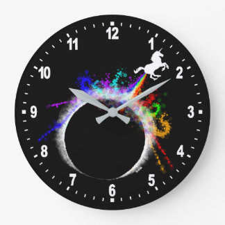 Totally magical eclipse large clock