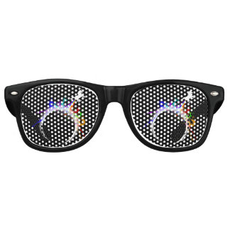Totally magical eclipse retro sunglasses