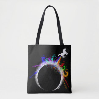 Totally magical eclipse tote bag