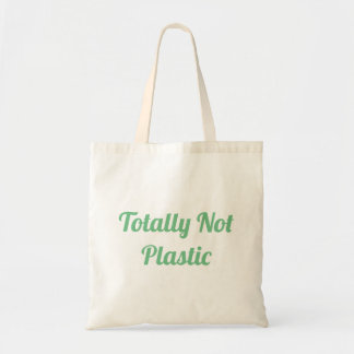 Totally Not Plastic Tote Bag