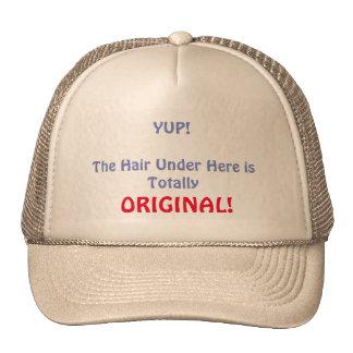 Totally Original Hair Trucker Hat
