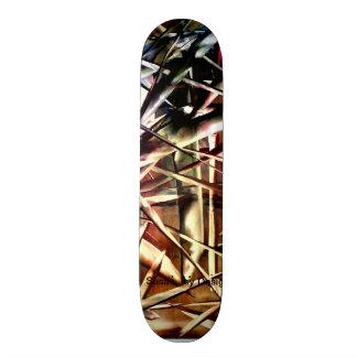 Totally Rad Skate Design Skate Deck