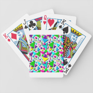 totally radical bicycle playing cards