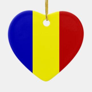 Totally Romanian Flag! Ceramic Ornament