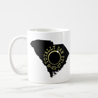 Totally Saw It Solar Eclipse South Carolina 2017 Coffee Mug