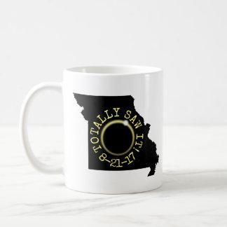 Totally Saw It Total Solar Eclipse Missouri 2017 Coffee Mug