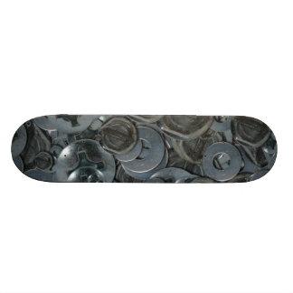 Totally Screwy Various Metal Screw Heads Skateboard