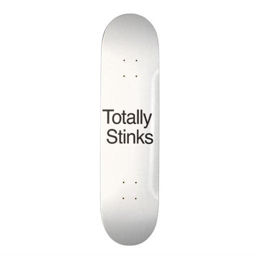 Totally Stinks Skate Board Decks