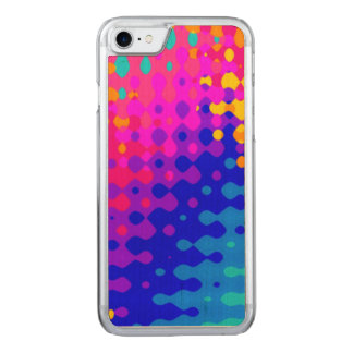 Totally Trippy Hippy Pattern Carved iPhone 7 Case