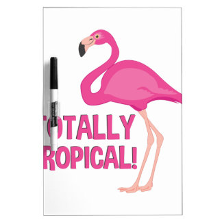 Totally Tropical Dry-Erase Whiteboards