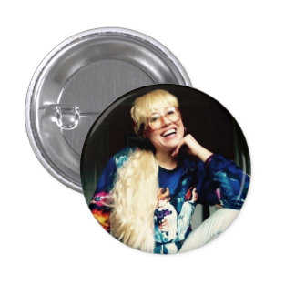 Totally Trudy 1 Inch Round Button
