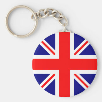 Totally UK Flag! Basic Round Button Keychain