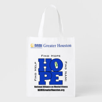 TOTE 1 side NAMI Greater Houston HOPE Bag