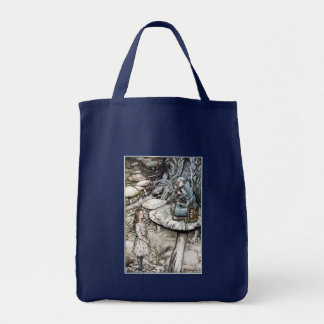 Tote:  Advice from a Caterpillar - by Rackham Tote Bag