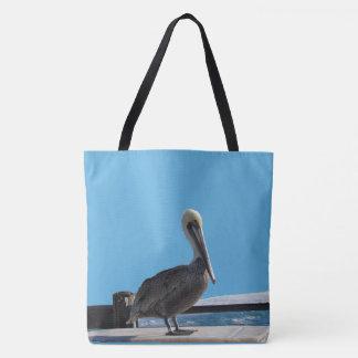 Tote Bag (ao) - Pelican in the Sun