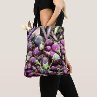 Tote Bag (ao) - Purple Vegetables