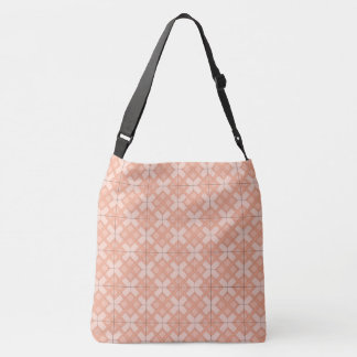 Tote Bag (ao) - Woven Lattice in Pinks