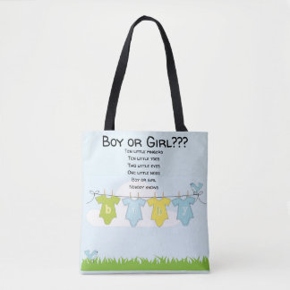 Tote Bag Babyshower Maternity Gift Bag Boy Girl