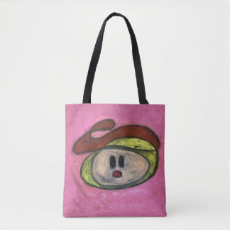 Tote bag - Blondie in Red Beret
