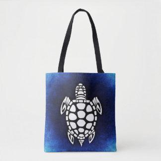 Tote Bag Blue Sea Turtle