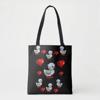 Tote bag ducks